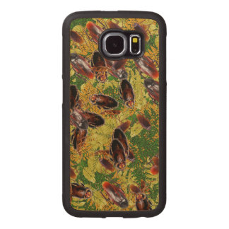 Cockroaches Wood Phone Case