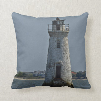 Cockspur Island Lighthouse 1 Cushion