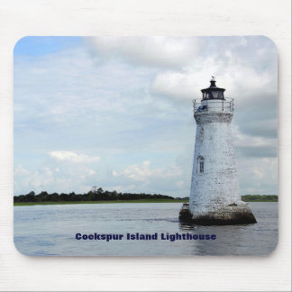 Cockspur Island Lighthouse Mouse Pad