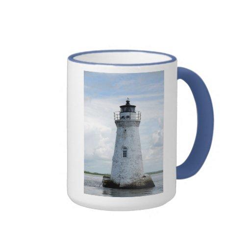 Cockspur Island Lighthouse Mugs