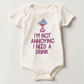 Cocktail alcohol party bartender bar festival baby bodysuit