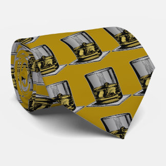 Cocktail and Napkin Design Tie