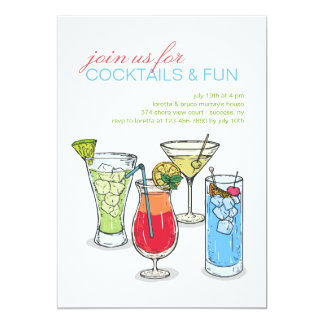 Cocktail Collection Invitation