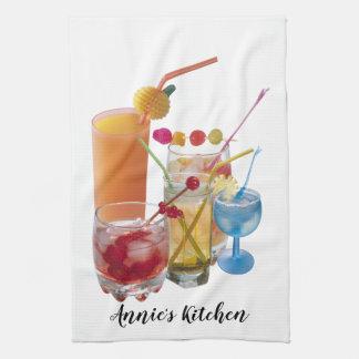 Cocktail Collection Tea Towel