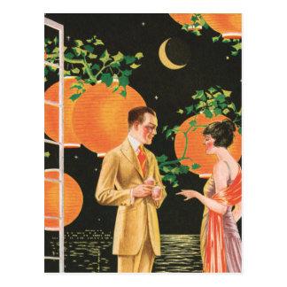 Cocktail Coversations Postcard