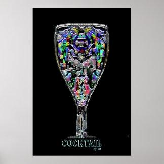 Cocktail Framed Poster