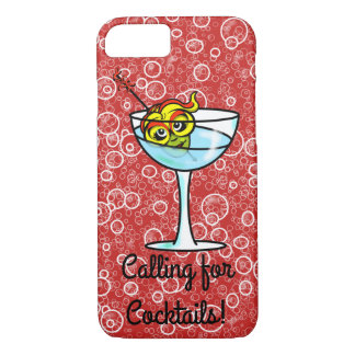 COCKTAIL GODDESS by Slipperywindow iPhone 8/7 Case