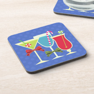 Cocktail Holiday Coasters (set of 4)