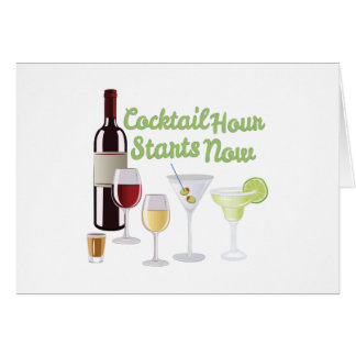 Cocktail Hour Card