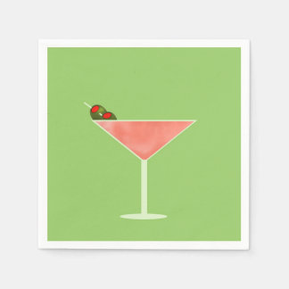 Cocktail Hour Cocktail Napkins Disposable Napkin