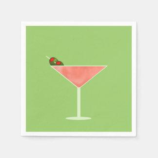 Cocktail Hour Cocktail Napkins Disposable Serviettes