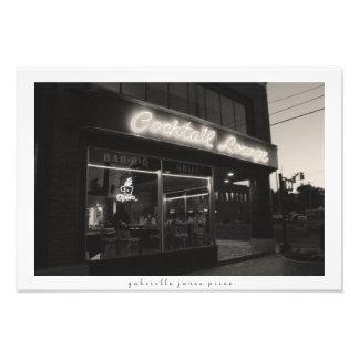 "Cocktail Lounge || Decorative Print (19"" x 13"")"