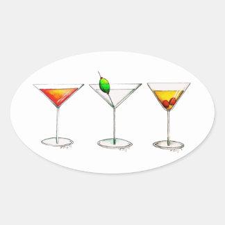 Cocktail Mixed Drinks Martini Cosmopolitan Sticker
