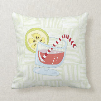 Cocktail pattern cushion