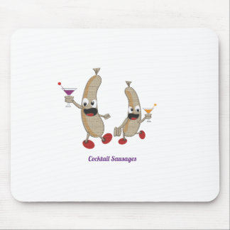 cocktail Sausages Mouse Pad