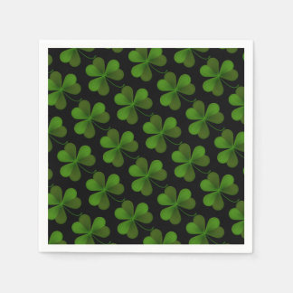 Cocktail Size Paper Napkins-Saint Patrick's Disposable Serviette