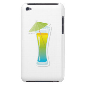 Cocktail with umbrella iPod touch covers