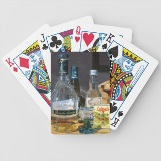 Cocktails and Mustard Bicycle Playing Cards