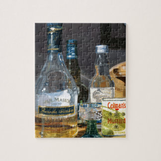 Cocktails and Mustard Jigsaw Puzzle
