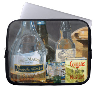 Cocktails and Mustard Laptop Computer Sleeves