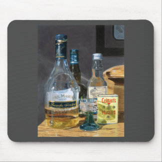 Cocktails and Mustard Mouse Pad