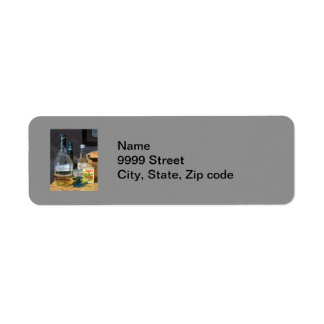 Cocktails and Mustard Return Address Label