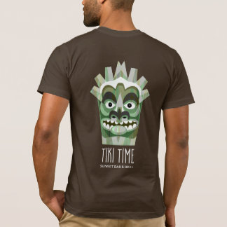Cocktails by the Beach Tiki Tropical T-Shirt