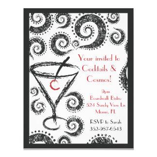 Cocktails Cosmos invitations