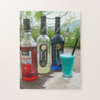 Cocktails of the Grenadines. Jigsaw Puzzle