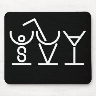COCKTAILS Puzzle Mousepad