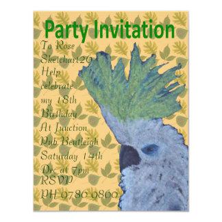 Cocky 11 Cm X 14 Cm Invitation Card