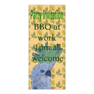 """Cocky 4"""" X 9.25"""" Invitation Card"""