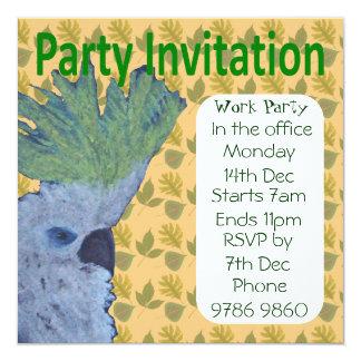 Cocky Invitations