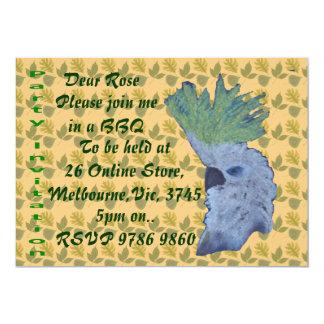 """Cocky 5"""" X 7"""" Invitation Card"""
