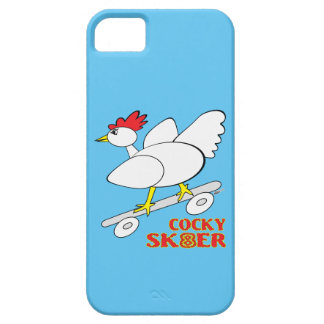 Cocky Skater iPhone 5 Cover