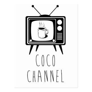 Coco Channel cute, stylish Postcard