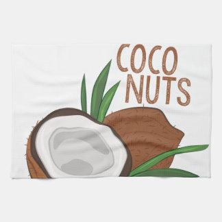 Coco Nuts Tea Towel