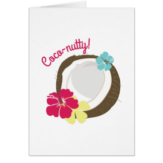 Coco-nutty Greeting Cards