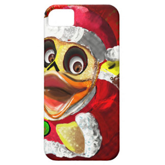 Coco Rubber Ducky Santa Barely There iPhone 5 Case
