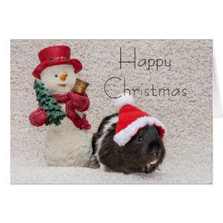 Coco says Happy Christmas Card