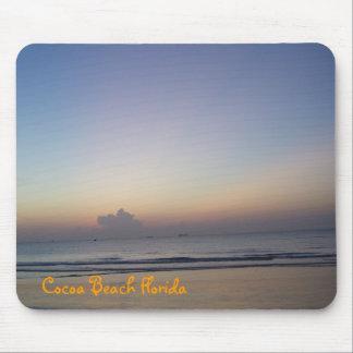 Cocoa Beach at Sunrise Mouse Pad