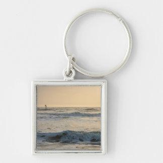 Cocoa Beach Paddleboarding Key Ring
