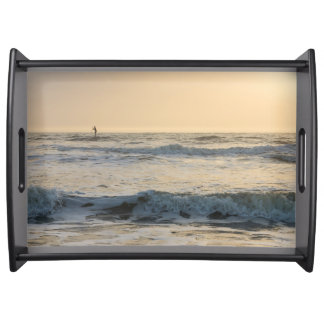 Cocoa Beach Paddleboarding Serving Tray
