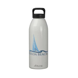 Cocoa Beach - Sailing. Reusable Water Bottles