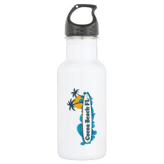 Cocoa Beach - Surf. 532 Ml Water Bottle
