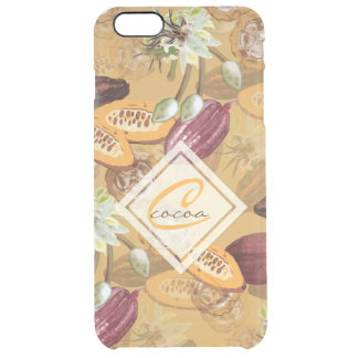 Cocoa Beans, Chocolate Flowers, Nature's Gifts Clear iPhone 6 Plus Case
