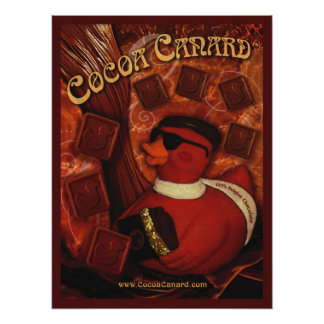 Cocoa Canard  Poster