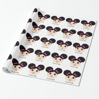 Cocoa Cutie Almond (MacKenzie) Wrapping Paper