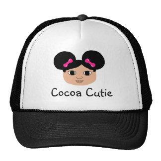 Cocoa Cutie Latte Pink Bows Cap