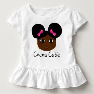 Cocoa Cuties Yanna Toddler Shirt (Mocha)